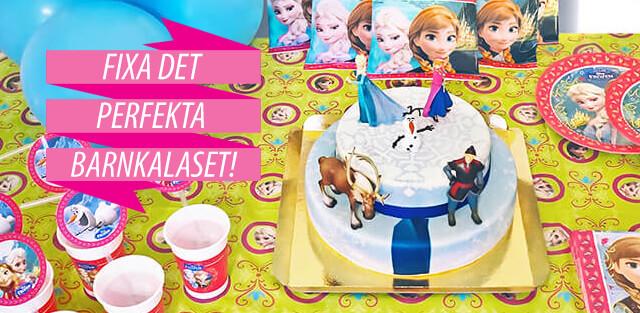 Fixa Frostfesten med en tårta med Elsa och hennes vänner
