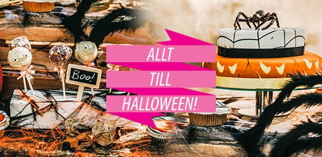Halloween-tårta