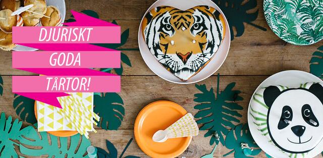 Beställ tårta med djurmotiv online!