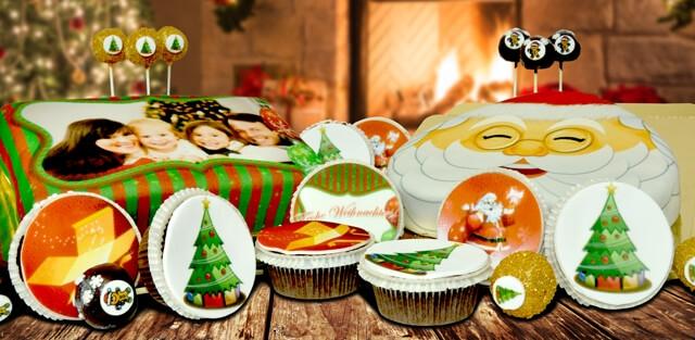 Jultårtor och andra bakverk