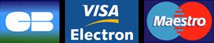 Debitkort - Visa Electron, Maestro och Carte Bleue