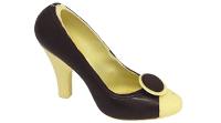 Brun-vit sko
