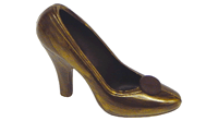 Guld-brun sko