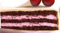 Chokladbottnar med körsbärscreme