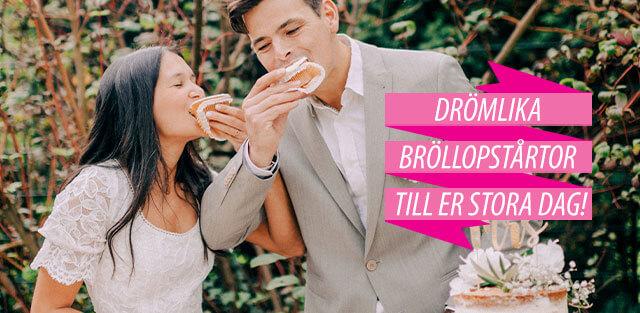 Bröllopstårta, beställ online!