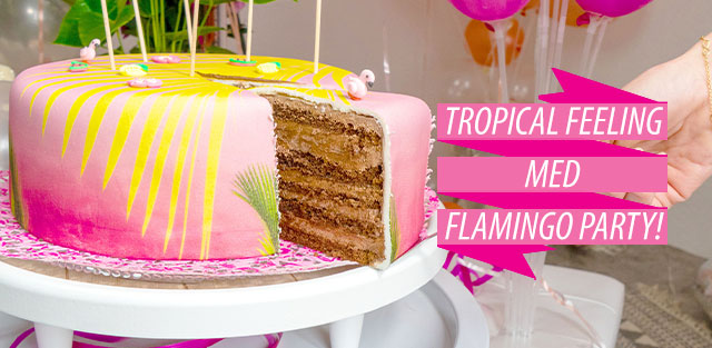 Flamingo-tårtor