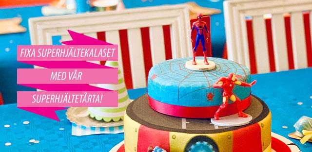 Tårtor med Spiderman