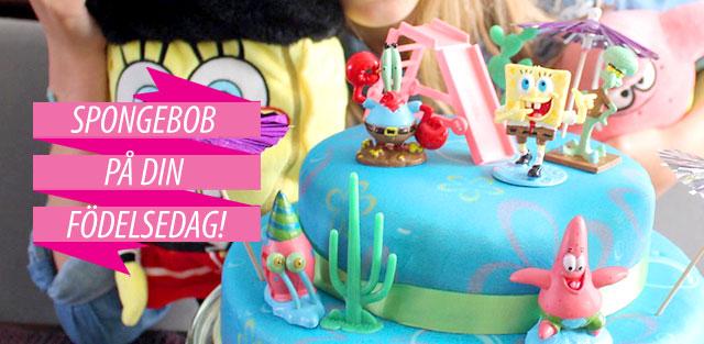 Tårta med Svampbob