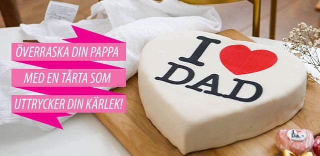 Fars-dag-tårta