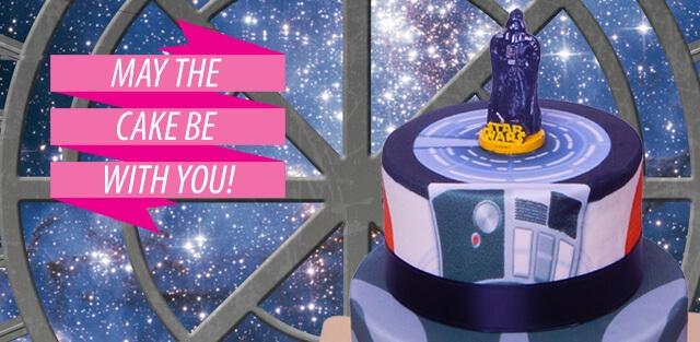 Star Wars på tårtor