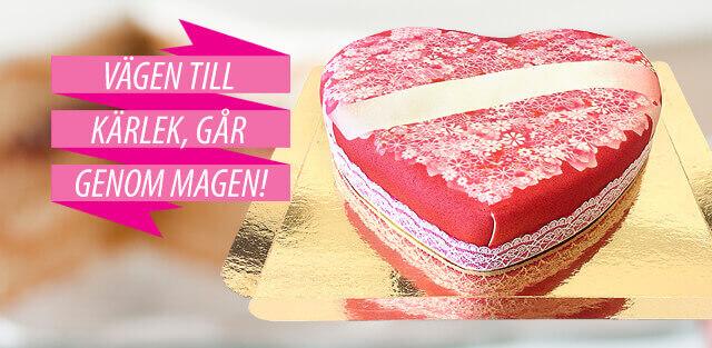 Hjärtformade tårtor
