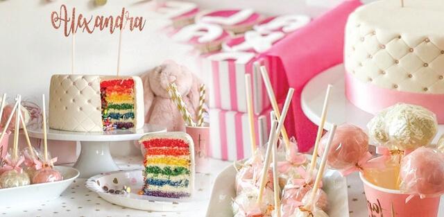 Födelsedagstårtor för flickor