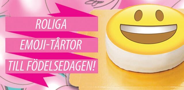 Smiley- & Emojitårtor