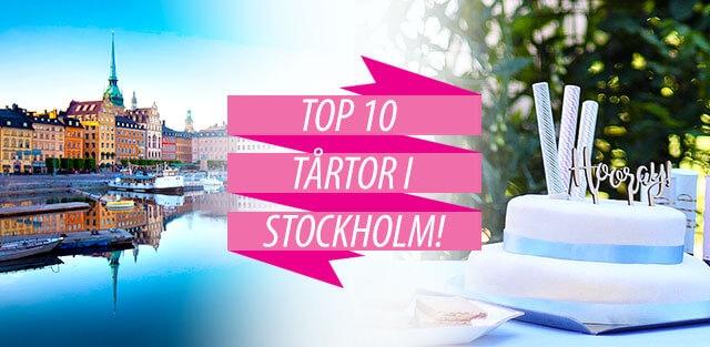 Beställ tårtor till Stockholm