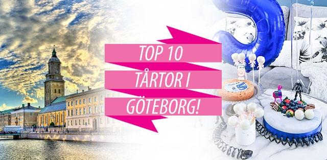 Beställ tårtor till Göteborg