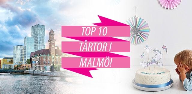 Beställ tårtor till Malmö
