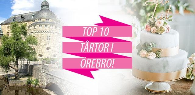 Beställ tårtor till Örebro