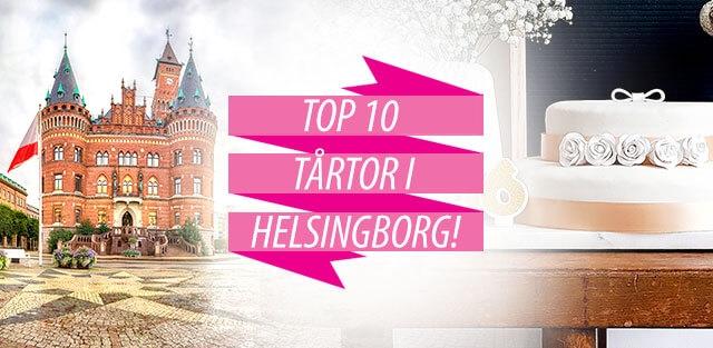 Beställ tårtor till Helsingborg