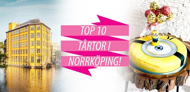 Beställ tårtor till Norrköping