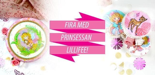 Prinsessan Lillifee tårtor