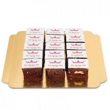 Brownies med logotyp (15 st)