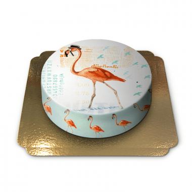 Flamingotårta av Pia Lilenthal