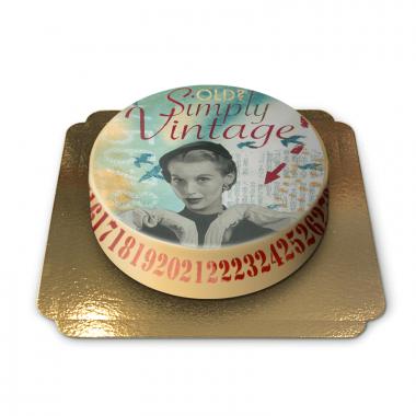 Vintagetårta av Pia Lilenthal