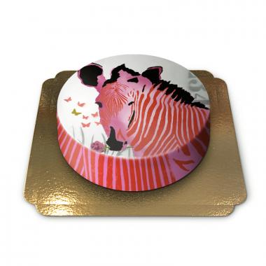 Zebratårta av Pia Lilenthal