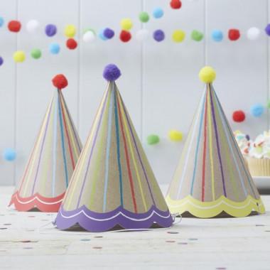 Dekorationsset, födelsedag (6 personer)