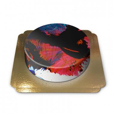 Abstrakt tårta