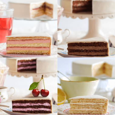 Tårtsmakprover