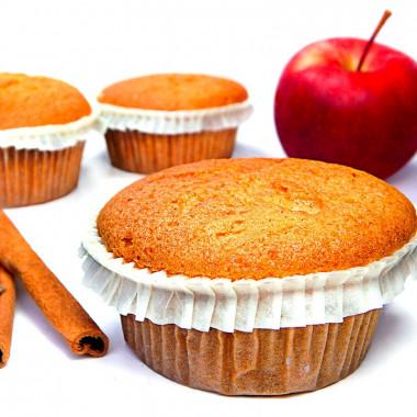 Muffins äpple-kanel, 9 st
