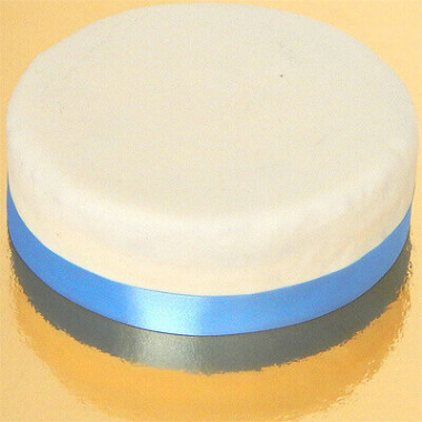 Smalt tårtband, ljusblått