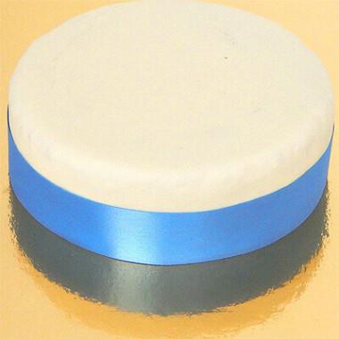 Brett tårtband, ljusblå