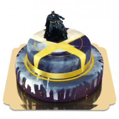 Batman på tvåvåningstårta