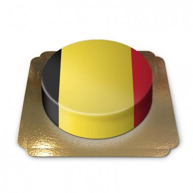 Belgien-tårta