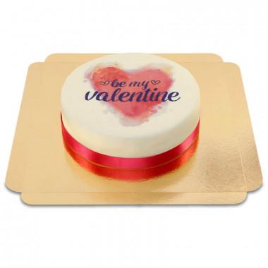 Be my Valentine-Tårta