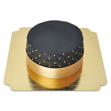 Svart Deluxe tårta