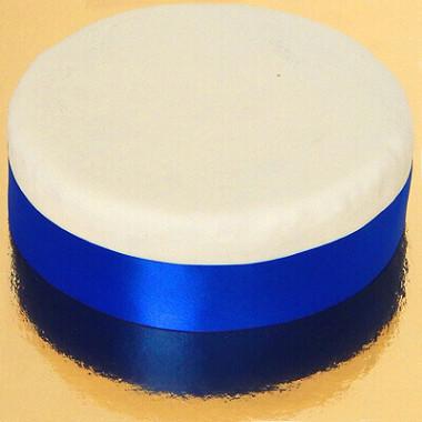 Brett tårtband, kungsblå