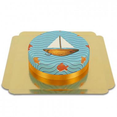 Båt-tårta