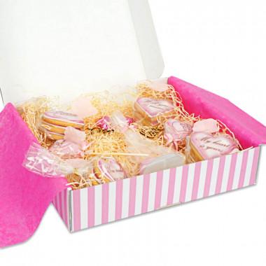 Alla hjärtans dag box - rosa