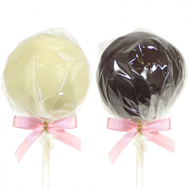 Cake-Pops med Mörk- & Vit Choklad (12 st)