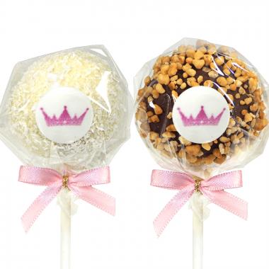 Cake-Pops med Logotyp, Hasselnötter & Kokos (12 st)