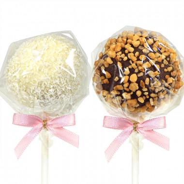Cake-Pops med Hasselnötter & Kokos (12 st)