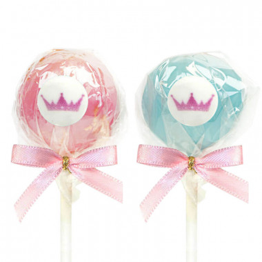 Cake-Pops med Logotyp, Vanilj- & Chokladsmak (12 st)