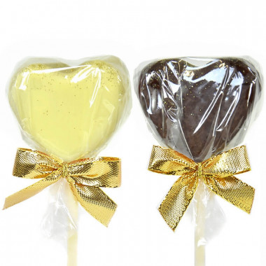 Cake-pops hjärtformade (12 st)