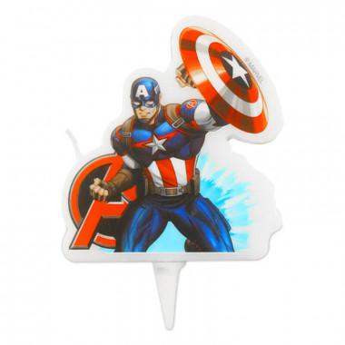 Captain America tårtljus