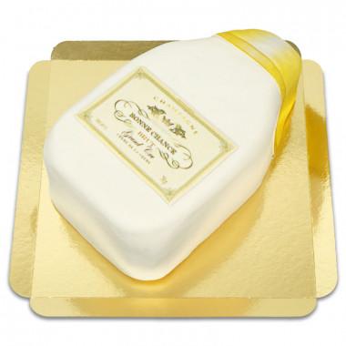 Champagnetårta Guld/vit