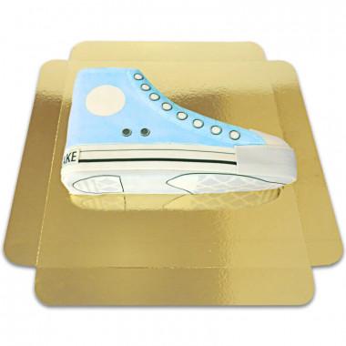 Blå Sneakertårta