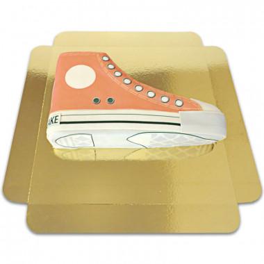 Orange Sneakertårta